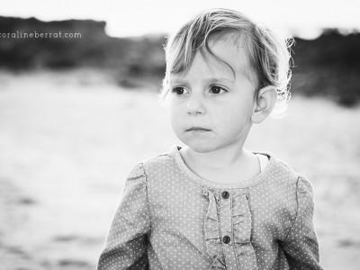 Portraits d'enfants à la plage