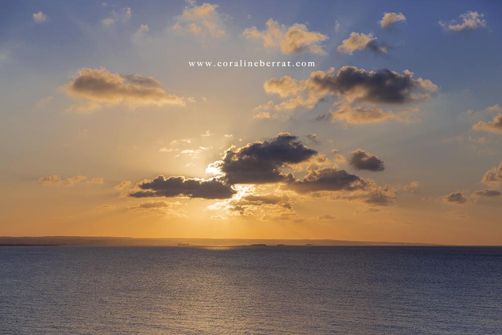 cherbourg coucher de soleil