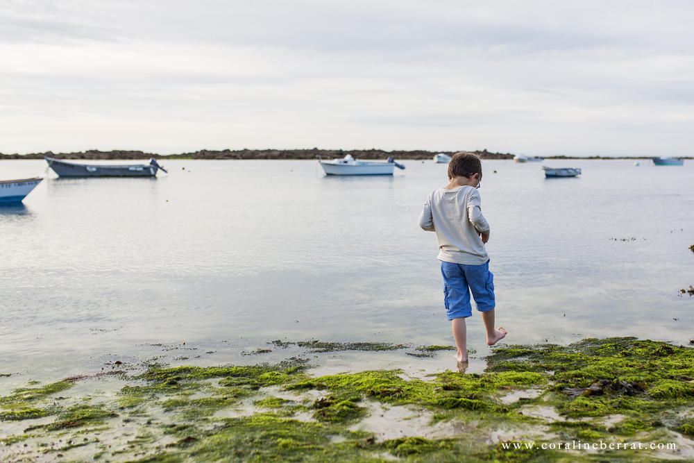 reportage photo enfants plage du vicq