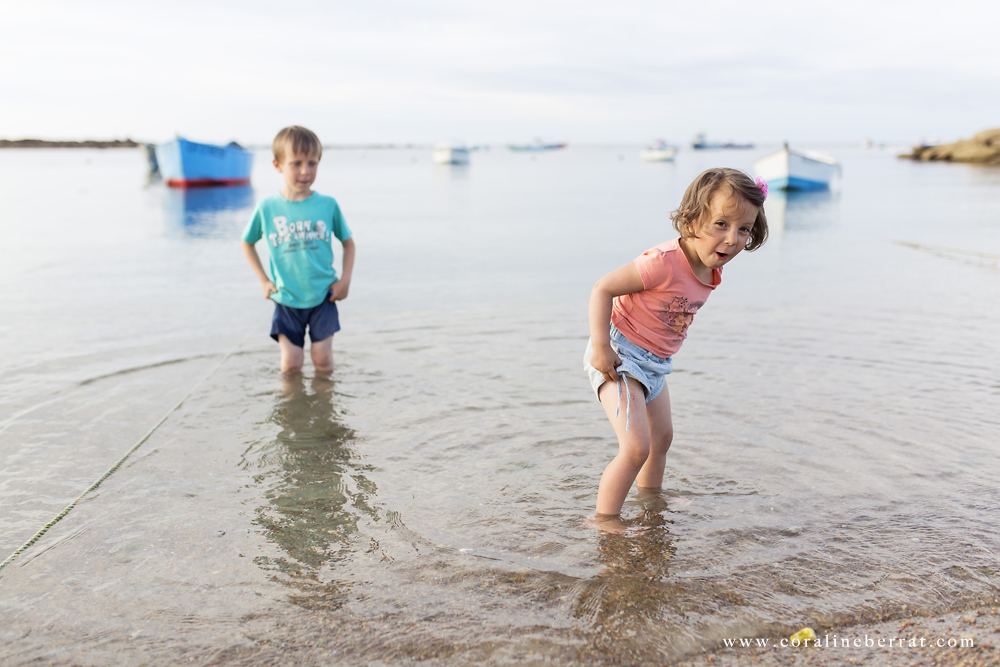 reportage photo enfants plage du vicq5