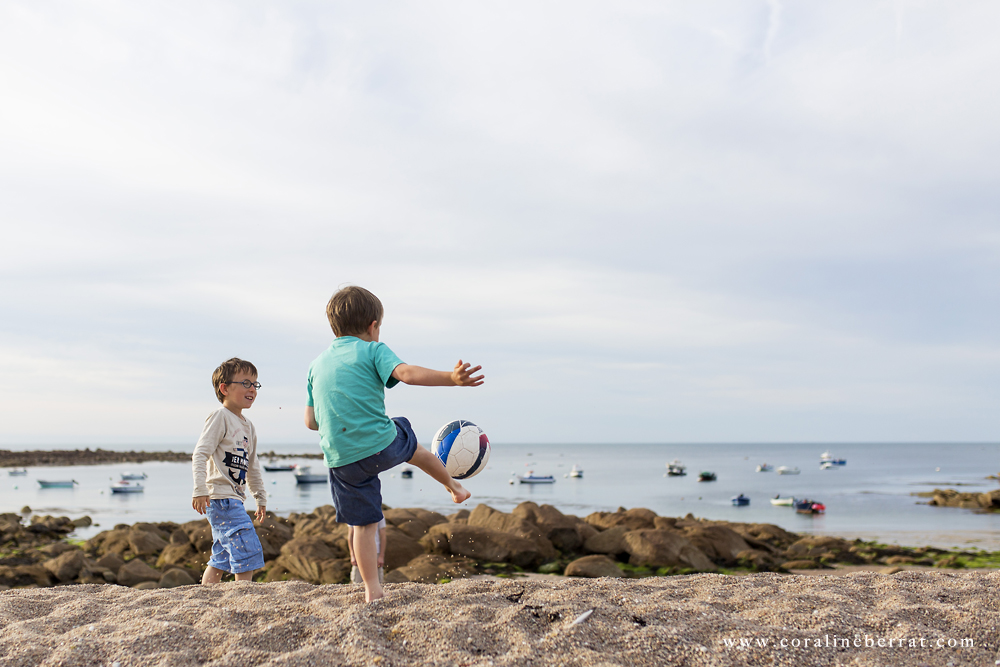 reportage photo enfants plage du vicq8